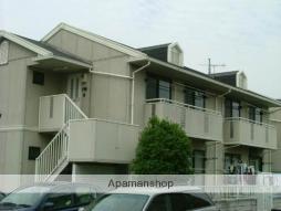 群馬県高崎市、北高崎駅徒歩40分の築25年 2階建の賃貸アパート