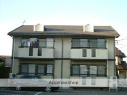 群馬県高崎市、北藤岡駅徒歩28分の築23年 2階建の賃貸アパート