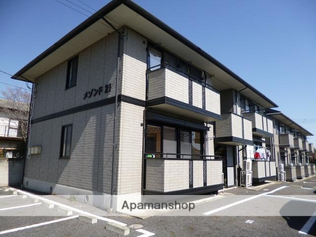 群馬県高崎市、高崎問屋町駅徒歩11分の築17年 2階建の賃貸アパート