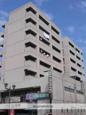 群馬県高崎市、高崎駅徒歩16分の築32年 8階建の賃貸マンション