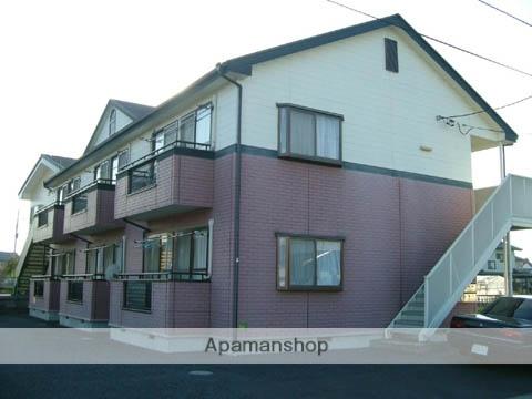 群馬県高崎市、倉賀野駅徒歩25分の築20年 2階建の賃貸アパート