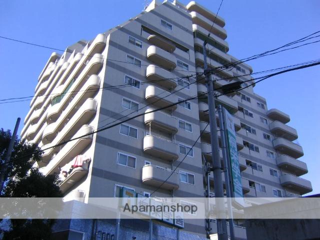群馬県高崎市、高崎駅徒歩8分の築27年 15階建の賃貸マンション