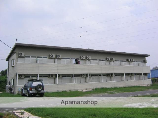 群馬県安中市、磯部駅徒歩18分の築25年 3階建の賃貸アパート