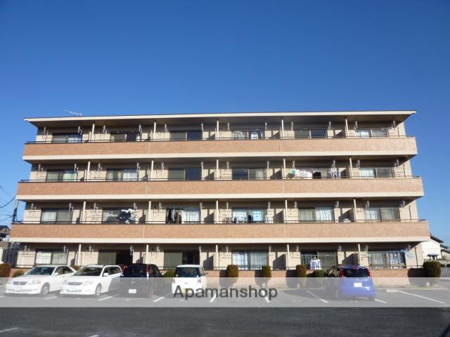 群馬県高崎市、井野駅徒歩6分の築20年 4階建の賃貸アパート