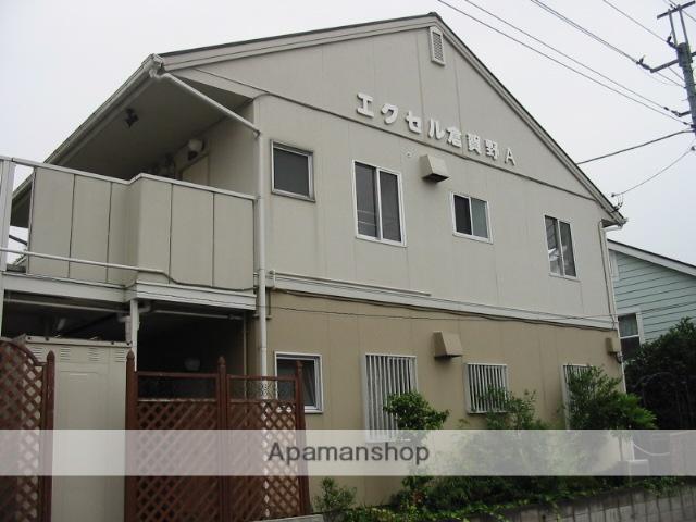 群馬県高崎市、倉賀野駅徒歩6分の築27年 2階建の賃貸アパート
