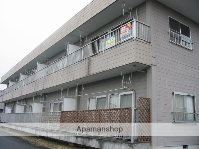 群馬県高崎市、群馬八幡駅徒歩4分の築31年 2階建の賃貸アパート