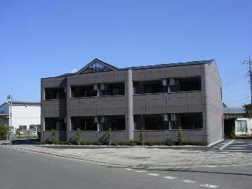 群馬県高崎市、高崎駅上信バスバス5分西上正六下車後徒歩20分の築12年 2階建の賃貸アパート