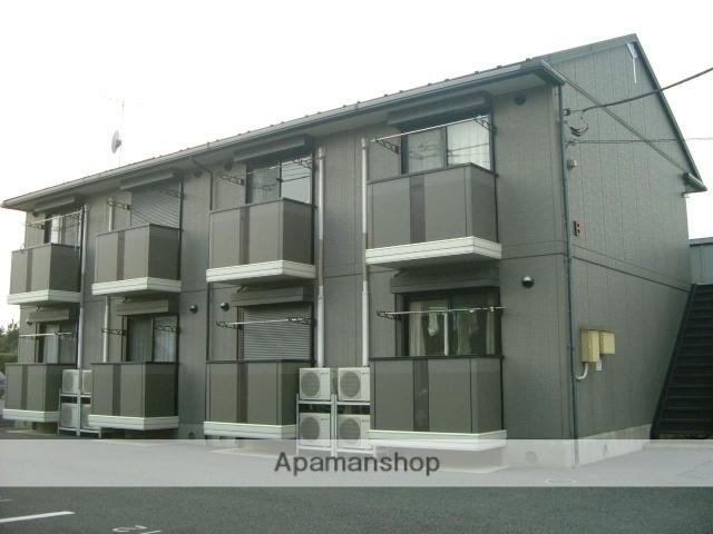 群馬県富岡市、西富岡駅徒歩5分の築19年 2階建の賃貸アパート