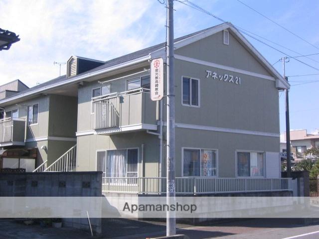 群馬県高崎市、高崎駅ぐるりんバス20分神田医院下車後徒歩5分の築26年 2階建の賃貸アパート