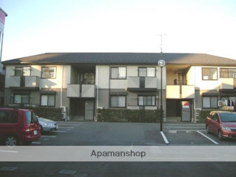 群馬県高崎市、高崎駅徒歩19分の築18年 2階建の賃貸アパート