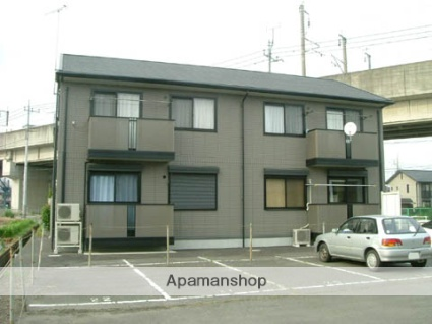 群馬県高崎市、北高崎駅徒歩16分の築13年 2階建の賃貸アパート