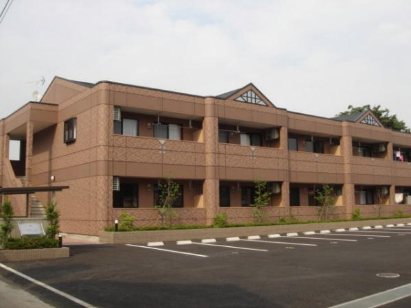 群馬県高崎市、高崎駅群馬バスバス30分根岸下車後徒歩4分の築10年 2階建の賃貸アパート