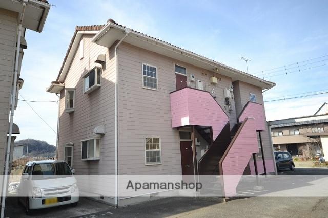 群馬県富岡市、西富岡駅徒歩25分の築27年 2階建の賃貸アパート