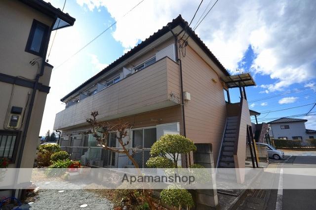 群馬県高崎市、倉賀野駅徒歩38分の築26年 2階建の賃貸アパート