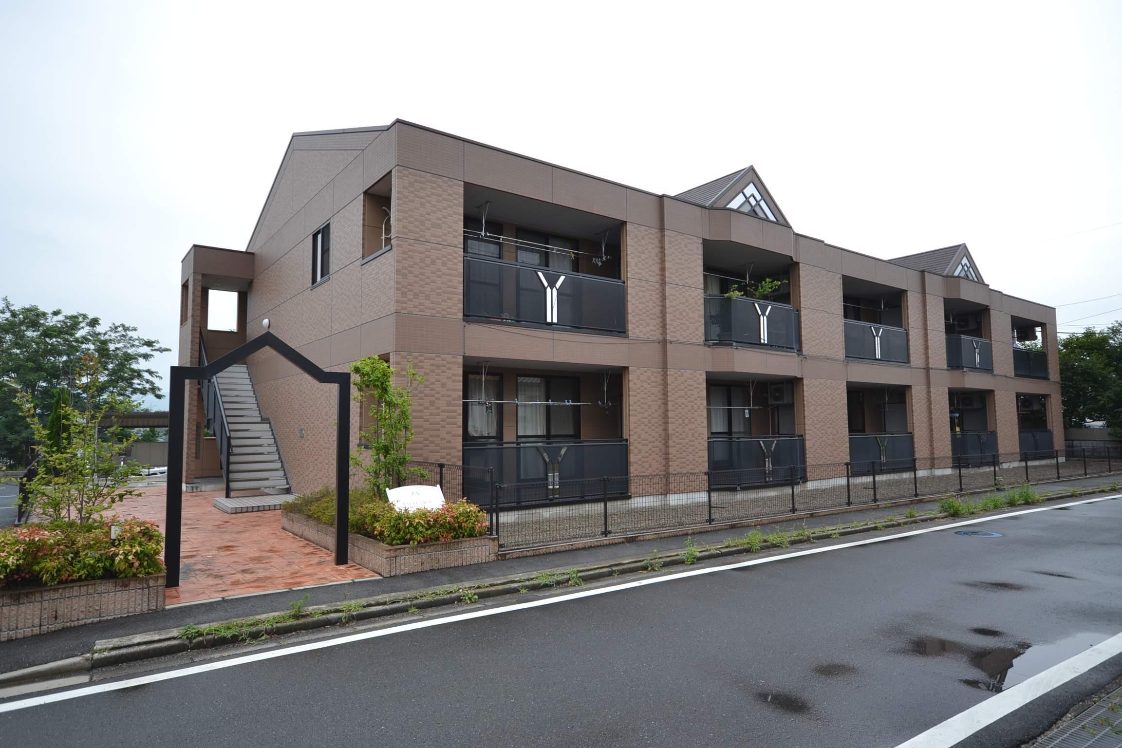 群馬県安中市、安中駅徒歩73分の築7年 2階建の賃貸アパート