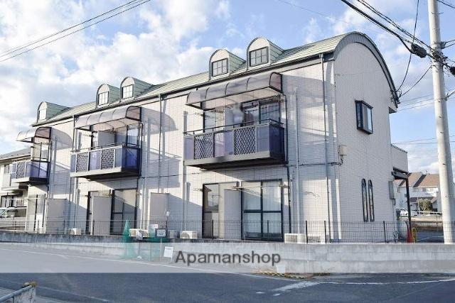 群馬県高崎市、井野駅徒歩53分の築20年 2階建の賃貸アパート