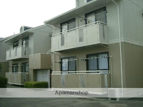 群馬県高崎市、井野駅徒歩13分の築23年 2階建の賃貸アパート