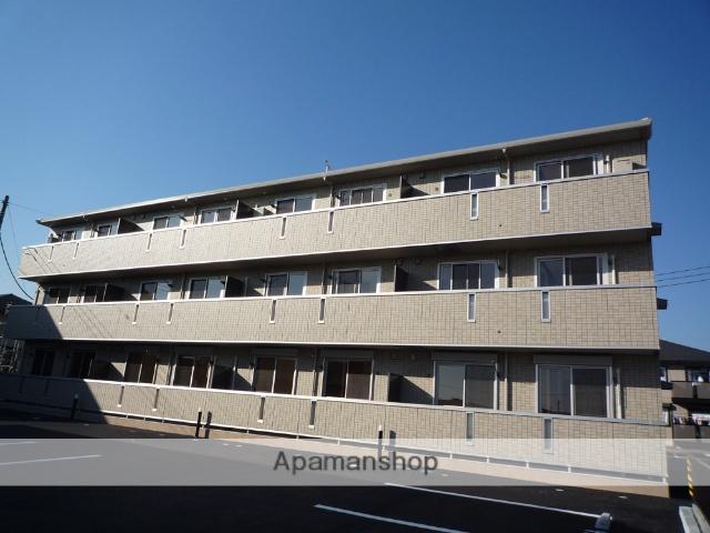 群馬県高崎市、高崎駅群馬バスバス25分イオン高崎下車後徒歩3分の築8年 3階建の賃貸アパート