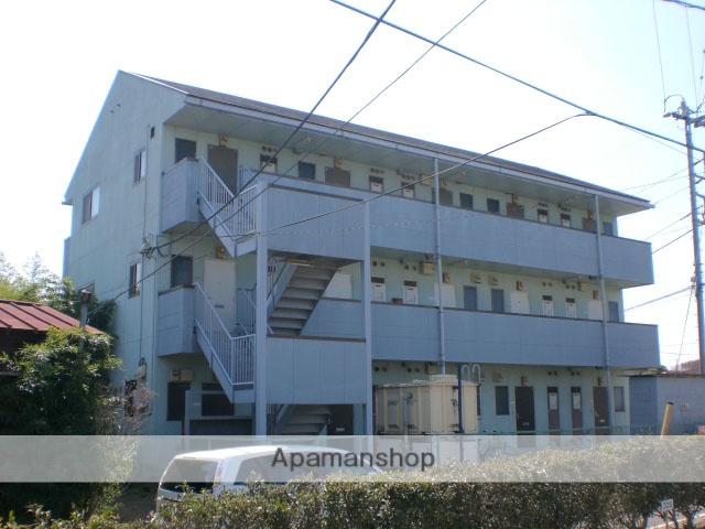 群馬県高崎市、倉賀野駅徒歩11分の築25年 3階建の賃貸アパート