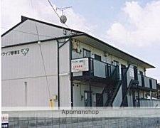 群馬県高崎市、新町駅徒歩13分の築23年 2階建の賃貸アパート