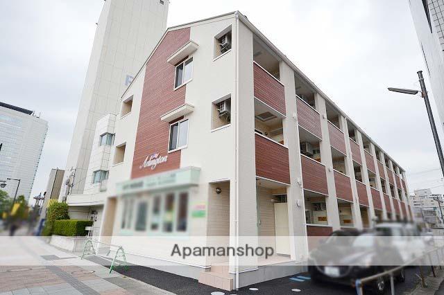 群馬県高崎市、高崎駅徒歩5分の新築 3階建の賃貸アパート