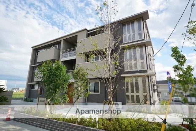 群馬県高崎市、佐野のわたし駅徒歩24分の新築 3階建の賃貸アパート