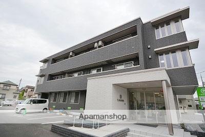 群馬県高崎市、北高崎駅徒歩19分の新築 3階建の賃貸アパート