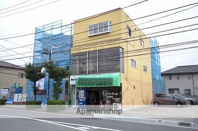 群馬県高崎市、高崎駅徒歩11分の築23年 3階建の賃貸アパート