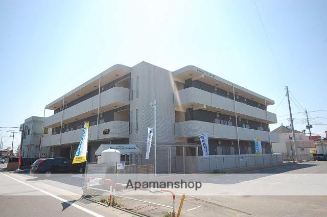 群馬県高崎市、高崎駅徒歩26分の築6年 3階建の賃貸マンション