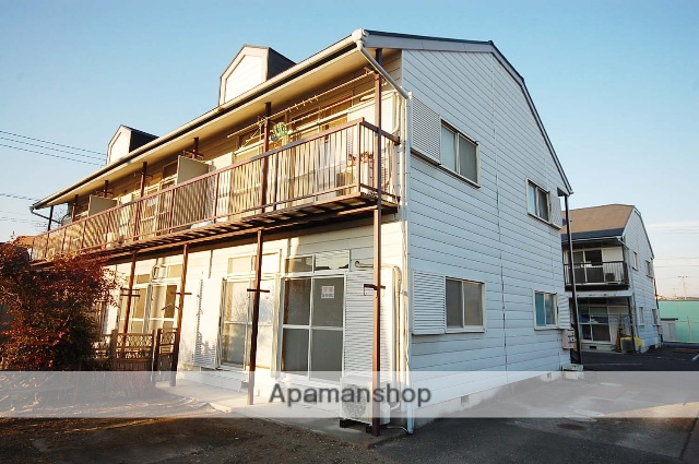 群馬県高崎市、群馬総社駅徒歩58分の築30年 2階建の賃貸アパート