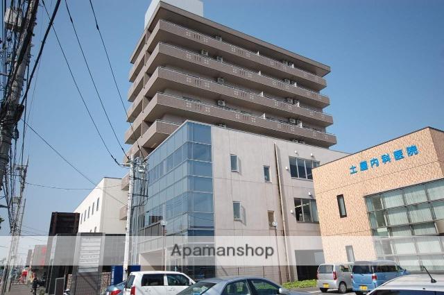 群馬県高崎市、北高崎駅徒歩23分の築12年 9階建の賃貸マンション