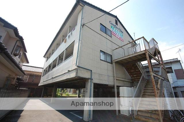 群馬県高崎市、北高崎駅徒歩27分の築23年 3階建の賃貸アパート