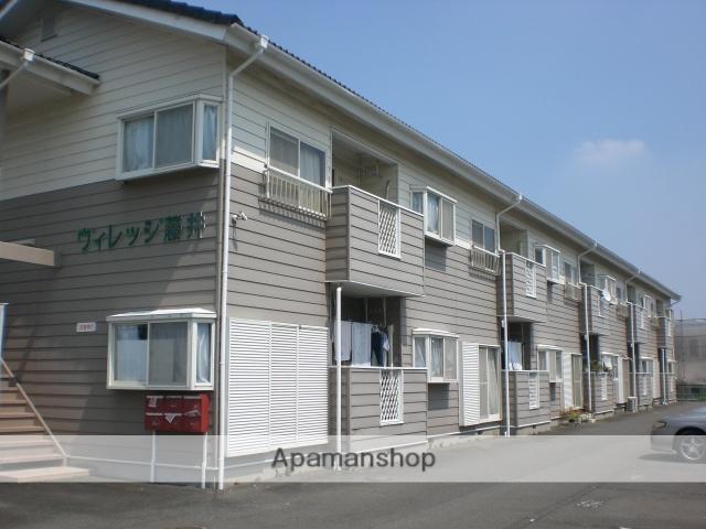 群馬県高崎市の築23年 2階建の賃貸アパート