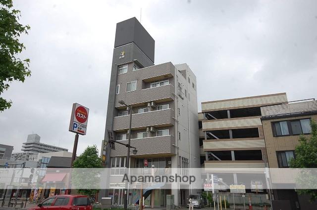 群馬県高崎市、高崎駅徒歩5分の築14年 6階建の賃貸アパート
