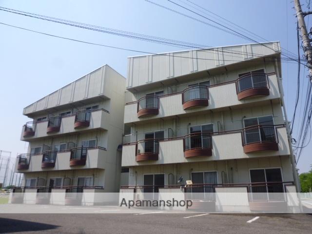 群馬県高崎市、倉賀野駅徒歩55分の築29年 3階建の賃貸アパート