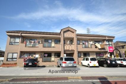 群馬県高崎市、高崎問屋町駅徒歩18分の築23年 2階建の賃貸アパート