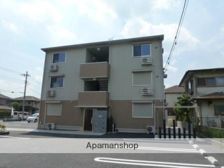 群馬県高崎市、高崎駅徒歩24分の築4年 3階建の賃貸アパート
