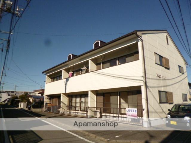 群馬県高崎市、高崎問屋町駅徒歩22分の築26年 2階建の賃貸アパート