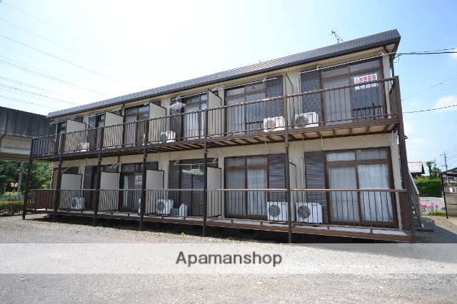 群馬県高崎市、高崎商科大学前駅徒歩25分の築21年 2階建の賃貸アパート