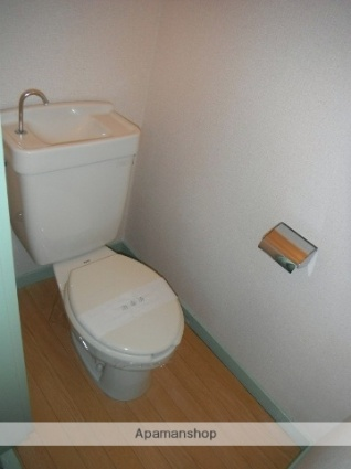 ハイツふじ[1K/28.92m2]のトイレ