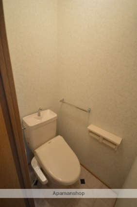 レトア桃の木BC [1K/20.25m2]のトイレ