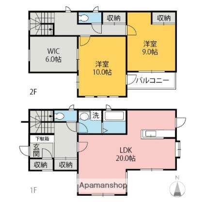 下細井一般住宅[2SLDK/115.93m2]の間取図