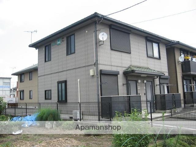 群馬県伊勢崎市、伊勢崎駅徒歩15分の築19年 2階建の賃貸アパート