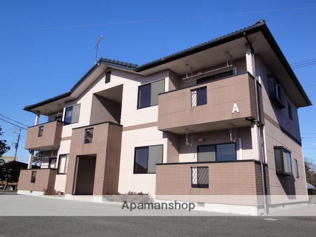 群馬県伊勢崎市、国定駅徒歩30分の築17年 2階建の賃貸アパート
