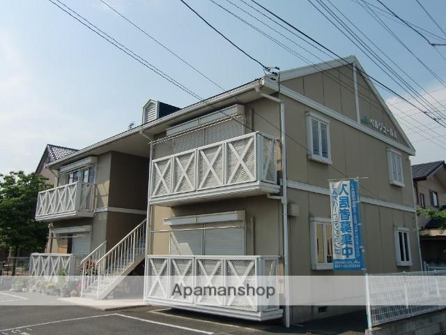 群馬県伊勢崎市、駒形駅徒歩34分の築23年 2階建の賃貸アパート
