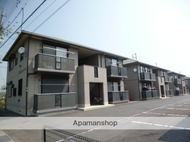 群馬県伊勢崎市、伊勢崎駅徒歩24分の築18年 2階建の賃貸アパート