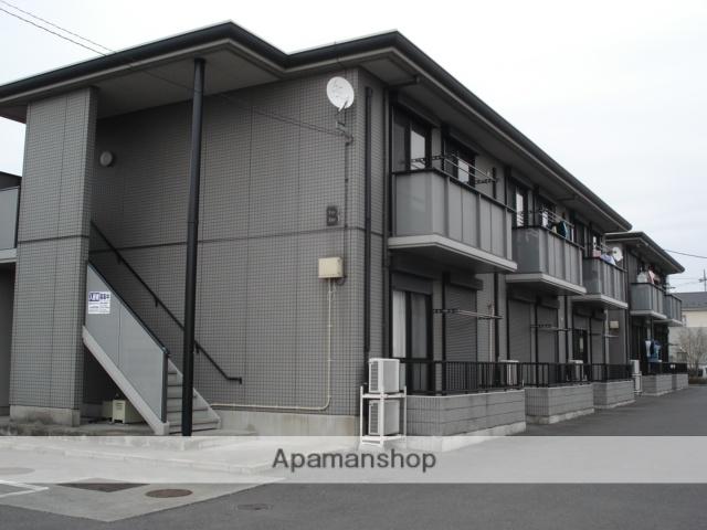 群馬県伊勢崎市、新伊勢崎駅徒歩19分の築16年 2階建の賃貸アパート