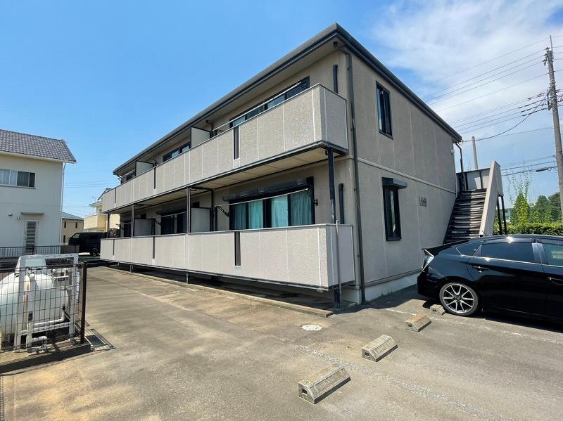 群馬県伊勢崎市、剛志駅徒歩30分の築14年 2階建の賃貸アパート