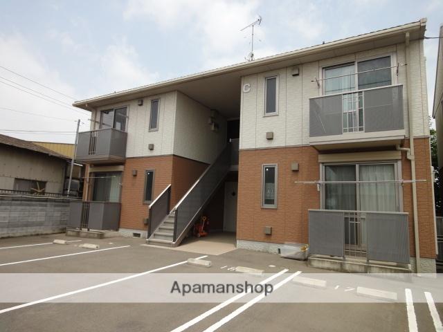 群馬県伊勢崎市、国定駅徒歩10分の築10年 2階建の賃貸アパート