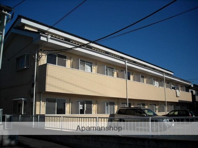 群馬県伊勢崎市、剛志駅徒歩20分の築26年 2階建の賃貸アパート